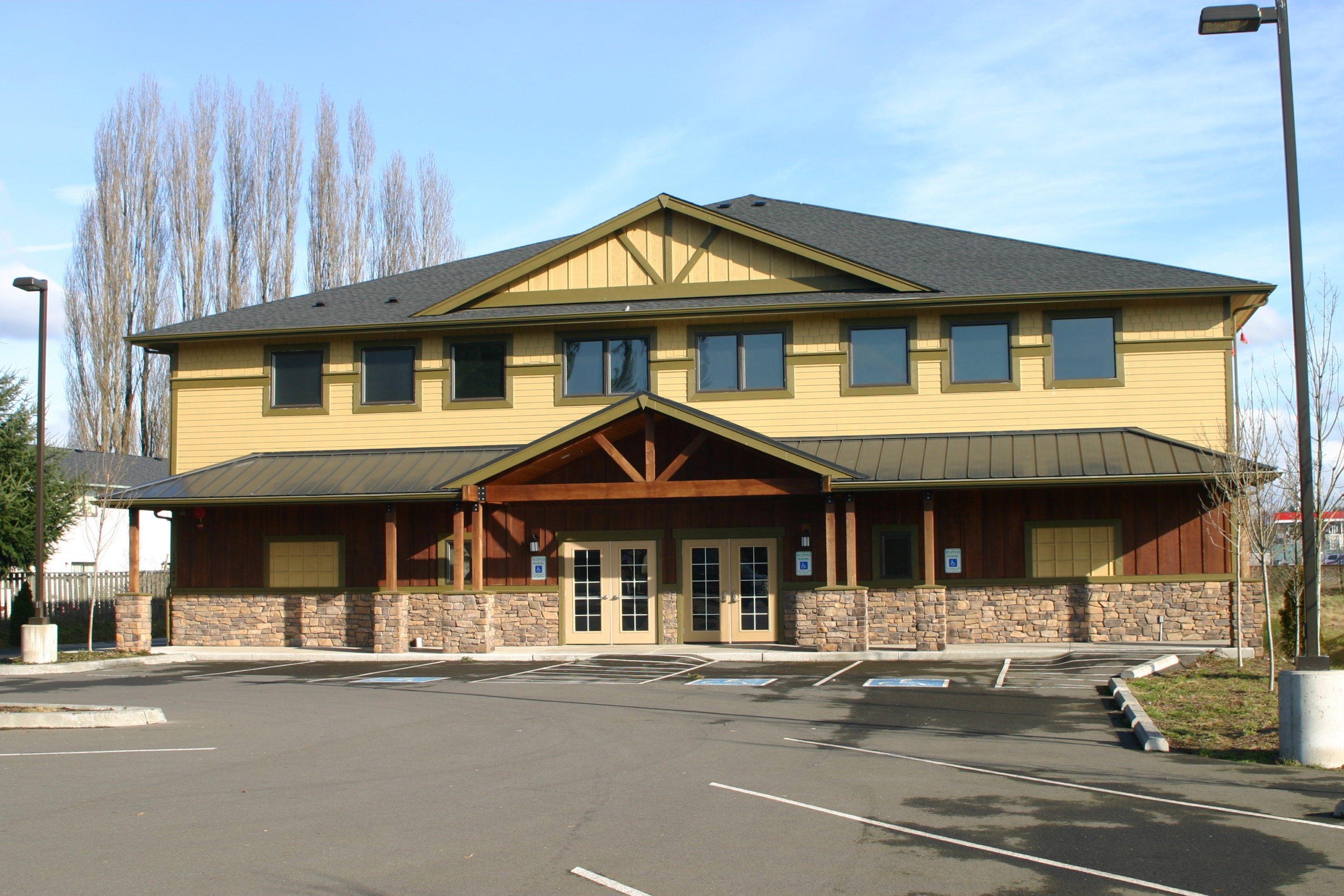 Office exterior painting